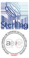 Imagen de los logos Sterling y Aeerc