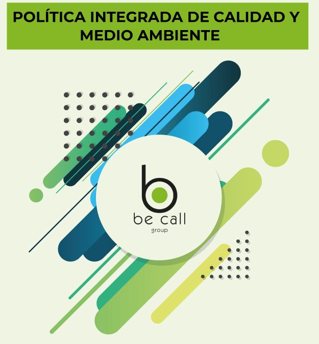 Portada dossier política integrada de calidad y medio ambiente